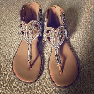 Torrid Rhinestone Sandals